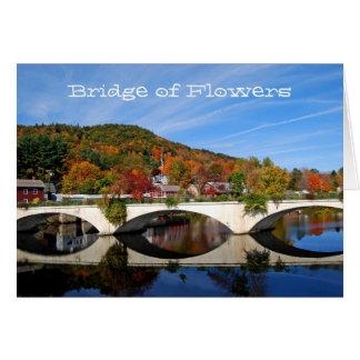 Autumn - Bridge of Flowers Notecard