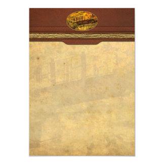 Autumn - Bridge - The hidden bridge Card