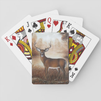 Autumn Buck Playing Cards