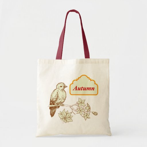 Autumn Budget Tote Bag