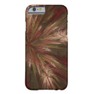 Autumn Burst Fractal Barely There iPhone 6 Case