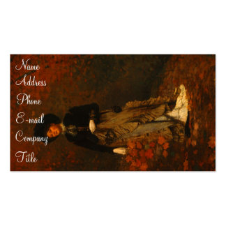 'Autumn' Double-Sided Standard Business Cards (Pack Of 100)