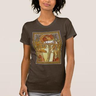 """""""Autumn"""" by Alphonse [Alfons]  Mucha T-Shirt"""
