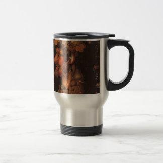 Autumn by Giuseppe Arcimboldo 15 Oz Stainless Steel Travel Mug