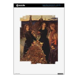 Autumn by John Everett Millais Skin For iPad 3