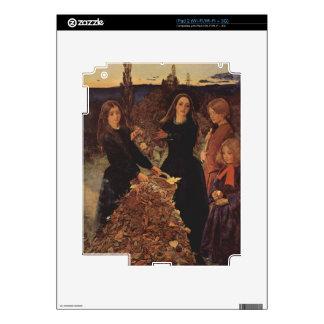 Autumn by John Everett Millais Skins For The iPad 2