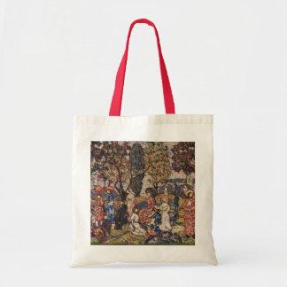 Autumn by Maurice Prendergast, Vintage Fine Art Tote Bag
