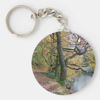 AUTUMN BY THE LAKE KEYCHAIN