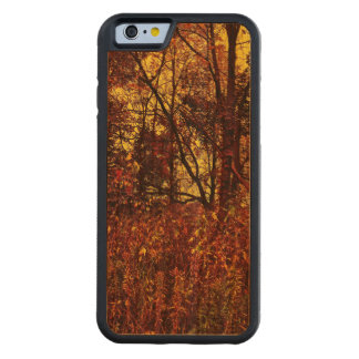 Autumn Camouflage iPhone 6 Bumper Cherry Wood Case