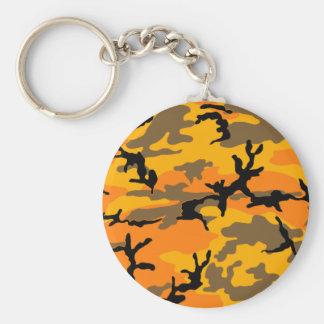 Autumn Camouflage Keychain