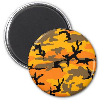Autumn Camouflage Magnet