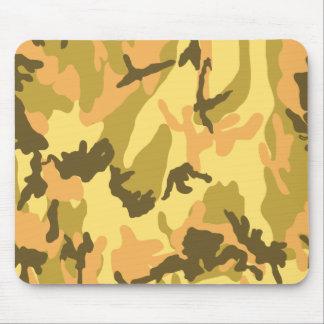 Autumn Camouflage pattern Mousepads