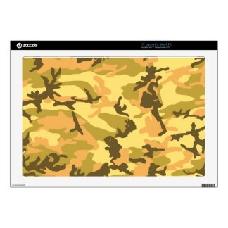 Autumn Camouflage pattern Decals For Laptops