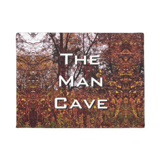 Autumn Camouflage The Man Cave Doormat