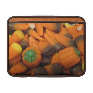 Autumn Candy Corn Macbook Air Sleeve