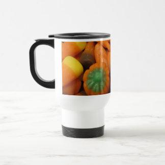 Autumn Candy Corn Travel Mug