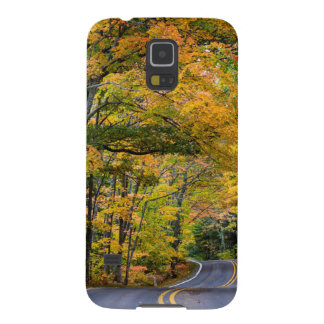 Autumn Canopy Of Color Along Highway 41 Galaxy S5 Case