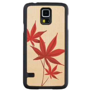 Autumn Carved Maple Galaxy S5 Case