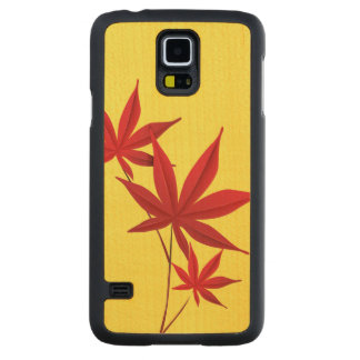 Autumn Carved Maple Galaxy S5 Slim Case