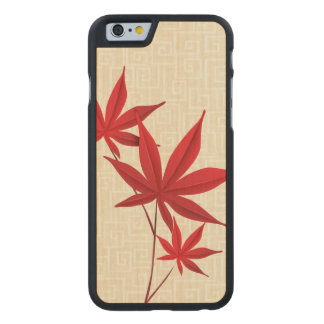 Autumn Carved Maple iPhone 6 Case