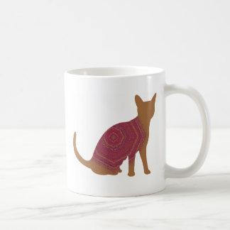 Autumn cat mug