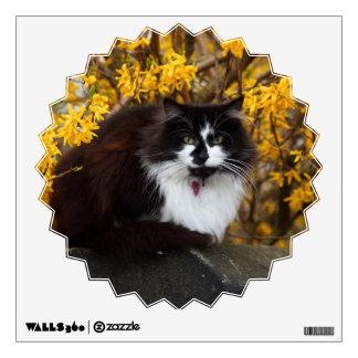 Autumn Cat Wall Sticker