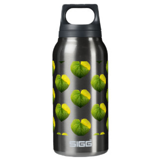 Autumn Catalpa Love Leaf Insulated Water Bottle