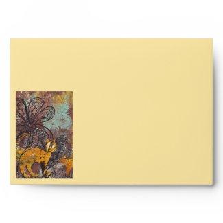 Autumn Cats Envelope envelope