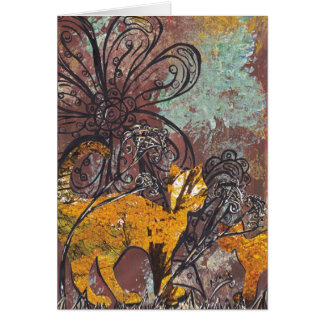 Autumn Cats Greeting Card