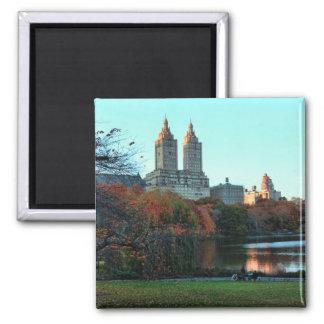 Autumn: Central Park Lake, San Remo Magnet
