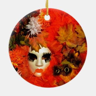 Autumn Ceramic Ornament