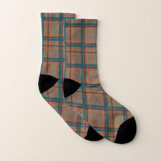 Autumn Chic Plaid Socks