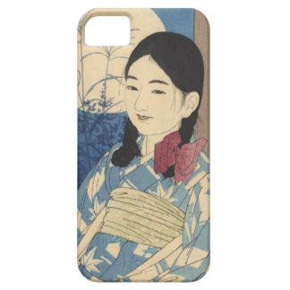 Autumn Child and Full Moon iPhone SE/5/5s Case