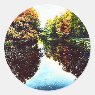 Autumn Classic Round Sticker