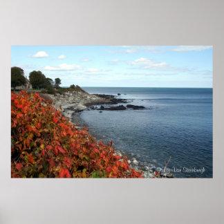 Autumn Coast Print