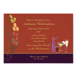 Autumn Cocktails Invitation