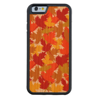 Autumn collection carved cherry iPhone 6 bumper case
