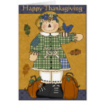 Autumn Collection Happy Thanksgiving Greeting Card