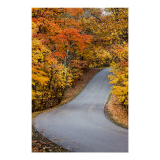 Autumn Color At Brown County State Park Print
