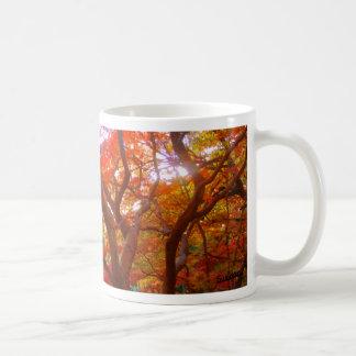 Autumn Color Classic White Coffee Mug