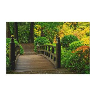 Autumn Color, Portland Japanese Garden Canvas Print