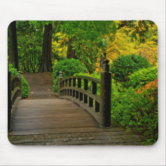 Autumn Color, Portland Japanese Garden Mouse Pad