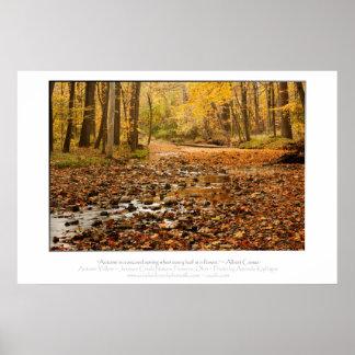 Autumn Color Posters