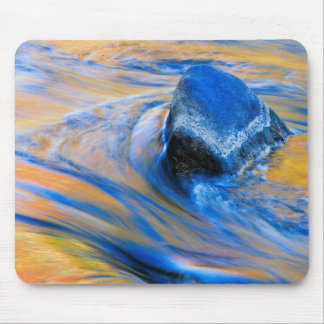Autumn Color Water Abstract Mouse Pad