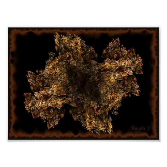 Autumn Colored leaves Print