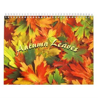Autumn Colors 2018 Calendar
