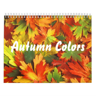 Autumn Colors 2 Calendar