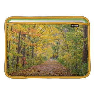 Autumn Colors At Independence State Park MacBook Sleeve