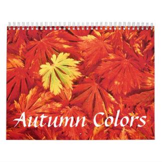 Autumn Colors Calendar