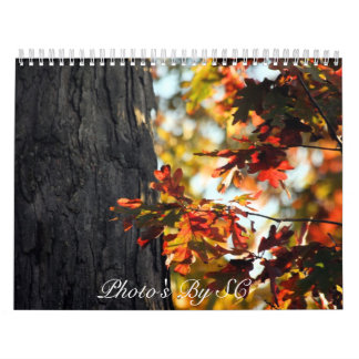 autumn colors calendar